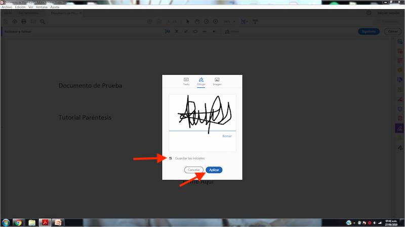 How to sign PDF documents in Windows? 4