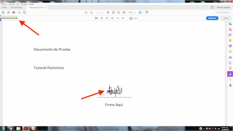 How to sign PDF documents in Windows? 10