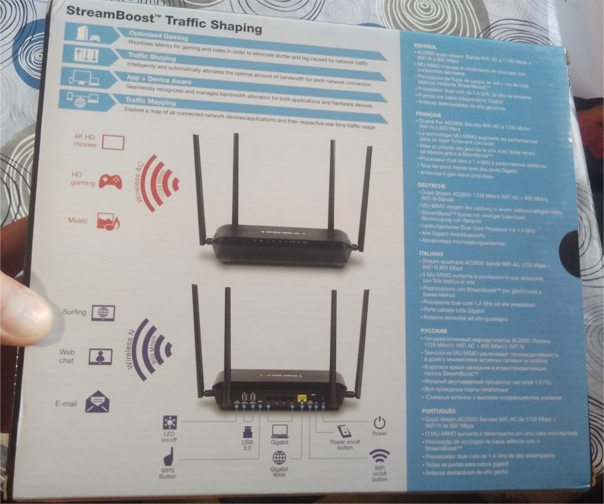 TrendNet TEW-827DRU router: not cheap, very cool 1