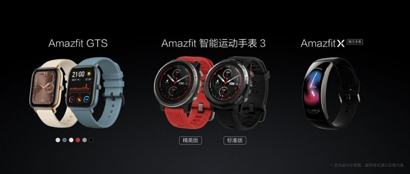 Smartwatch: Huami introduces the Amazfit GTS Apple Watch Clone to the fight price as well as the Sports Watch 3 and Amazfit X ago