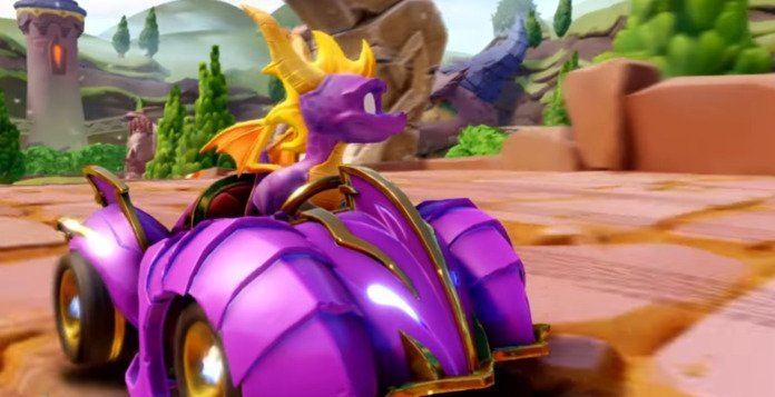 Spyro will arrive at Crash Team Racing Nitro-Fueled with a new circuit 2