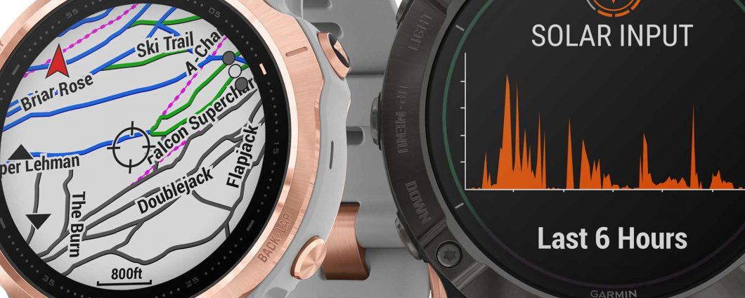 Garmin Fenix ​​6: smartwatch with solar charge