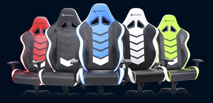 Newskill Nayuki, Aryon, Akeron and Valkys, gaming chairs from 99.95 euros 8