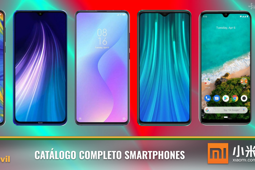 Xiaomi Redmi Note 8 and Note 8 Pro, so they fit into the complete Xiaomi mobile catalog in 2019