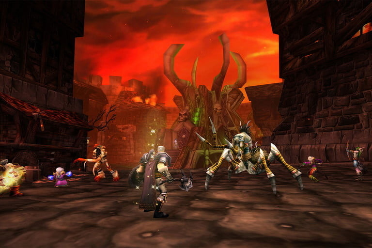 Dungeons are also an option to level up quickly in WoW Classic.
