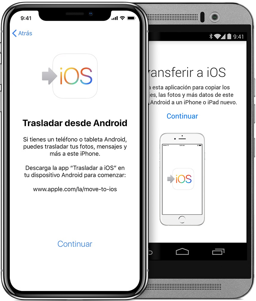 Transfer your data between your old and new mobile (Android and iOS) 3