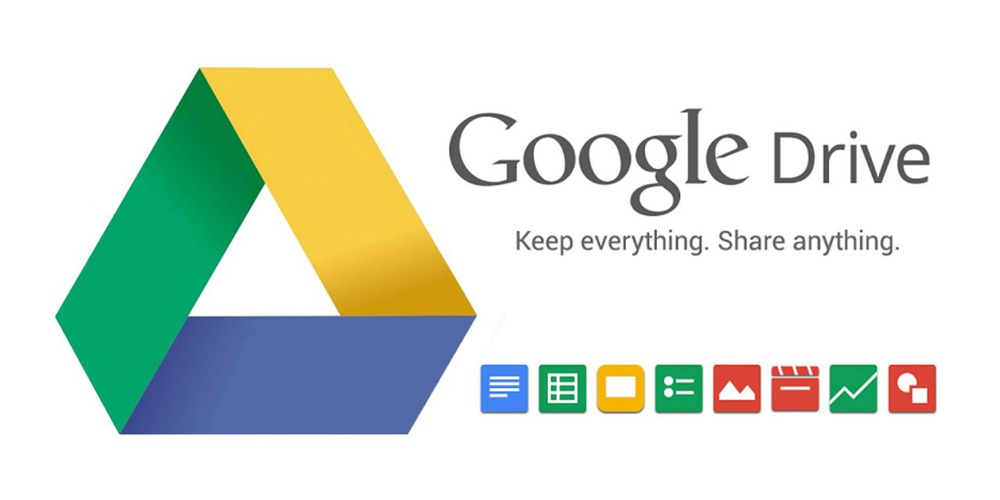 Icon and services associated with Google Drive