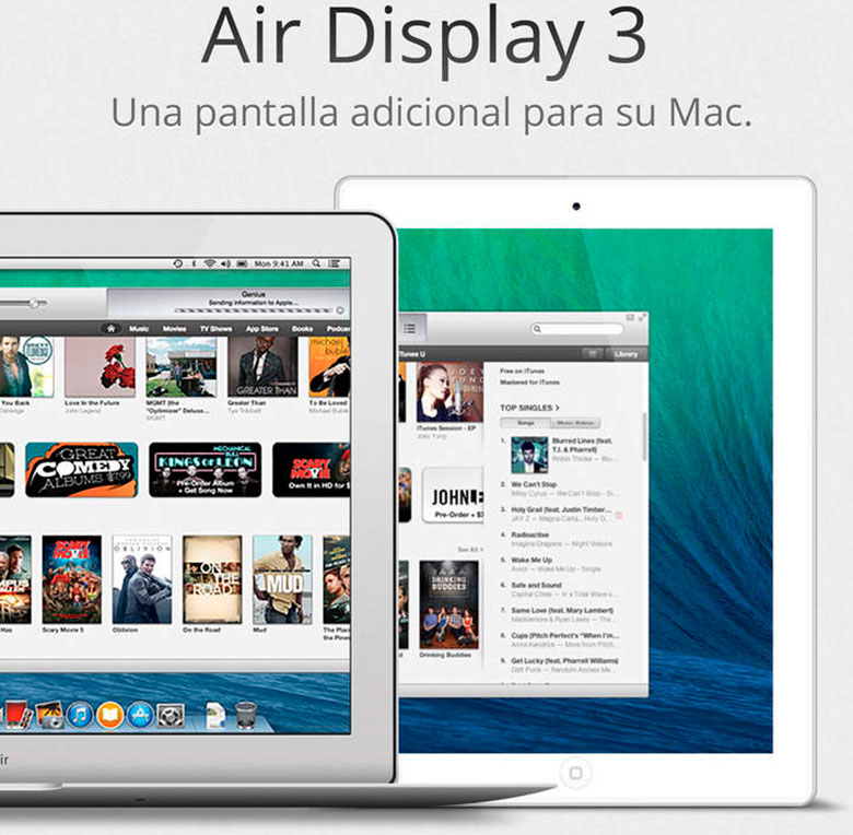 Air Display 3, the app to duplicate the Mac screen on iPhone or iPad with USB and Wi-Fi 3