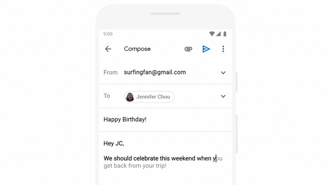 On its 15th birthday, Gmail has an option to schedule emails 4