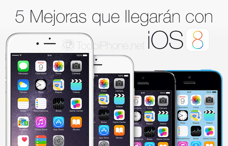 5 Improvements that will arrive with iOS 8 tomorrow 6