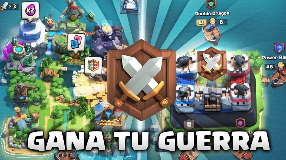 5 tricks to win in clan wars in Clash Royale