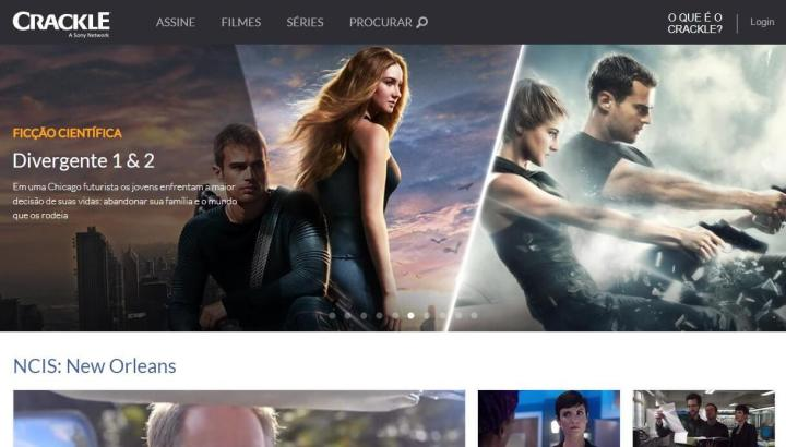 The site offers several free Sony movies