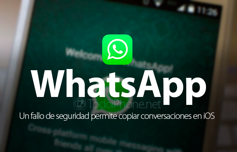 A bug allows you to copy WhatsApp conversations on iOS 2