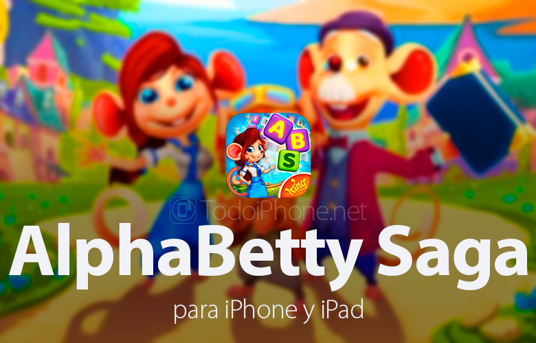 AlphaBetty Saga, the social word game for iPhone and iPad 2