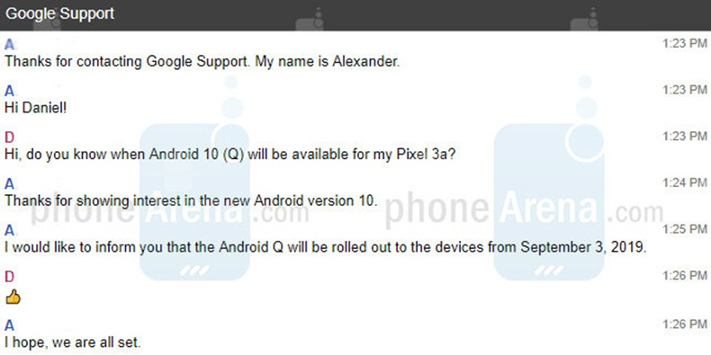 Android 10 Released 2