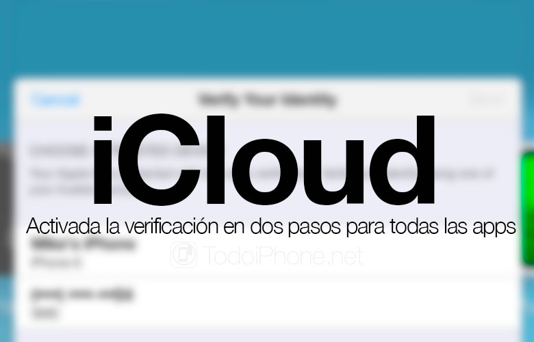 Apple Enable two-step verification in iCloud for all Apps 4