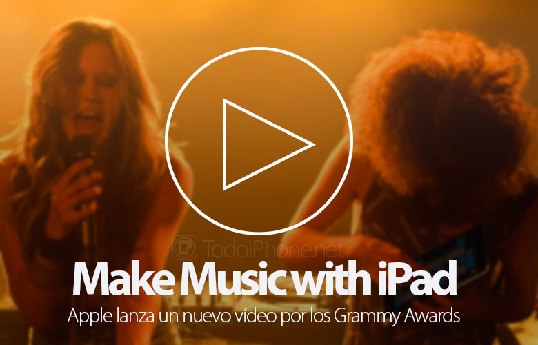 Apple Launches the video «Make Music with iPad» by the Grammy Awards, know all the apps 2