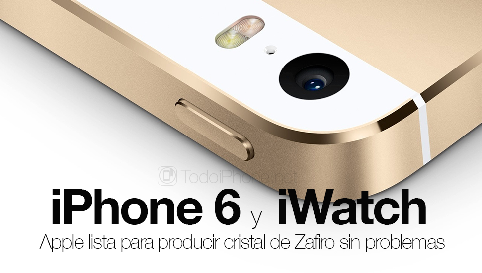 Apple Ready to produce Sapphire Crystal for iPhone 6 and iWatch, no problems 3