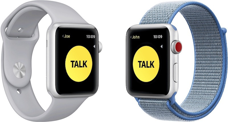 Apple Temporarily disable the Walkie-Talkie function of the Apple Watch when significant vulnerability is detected 1