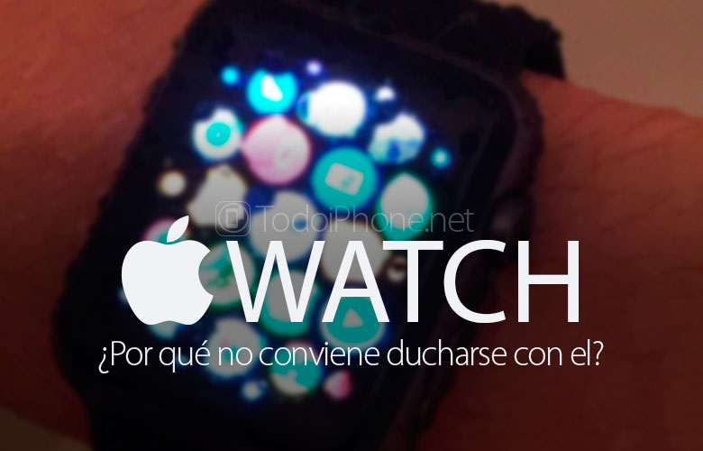 Apple Watch Why shouldn't you shower with him? 2