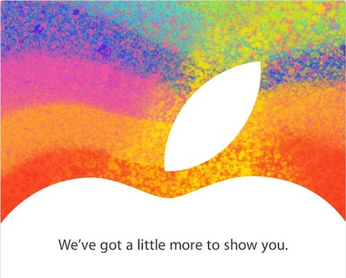 Apple announces the event where the iPad mini will be presented next October 23 2