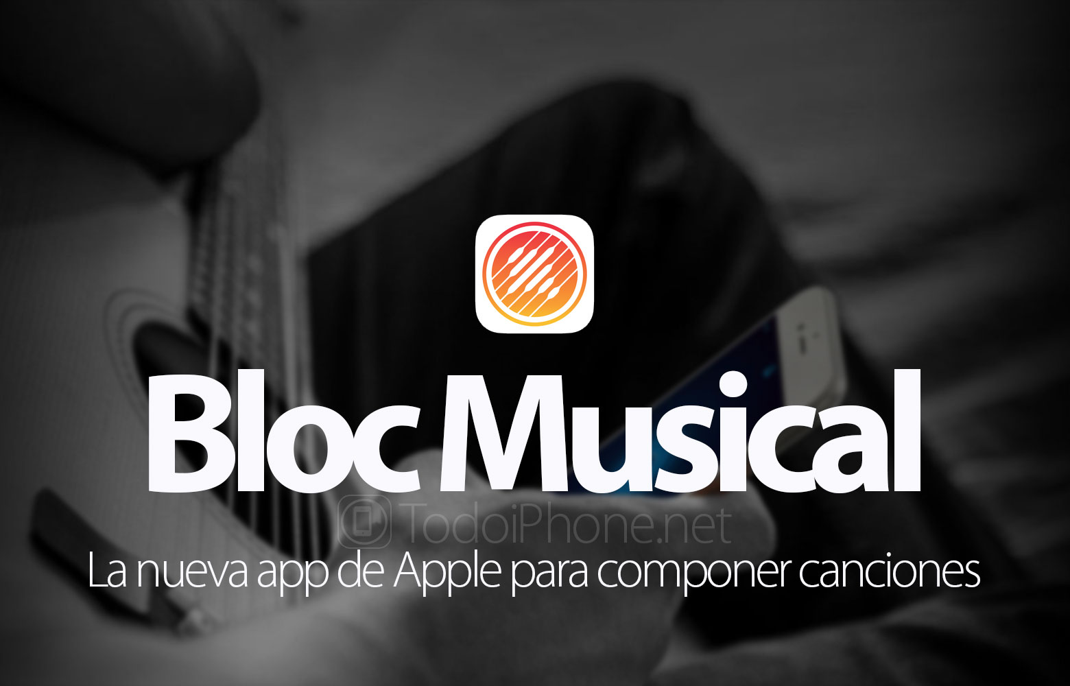 Bloc Musical, the new app of Apple to compose songs with the iPhone 4