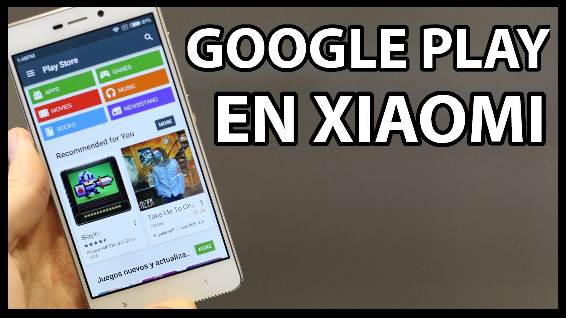 Discover how to install Play Store on Xiaomi 3