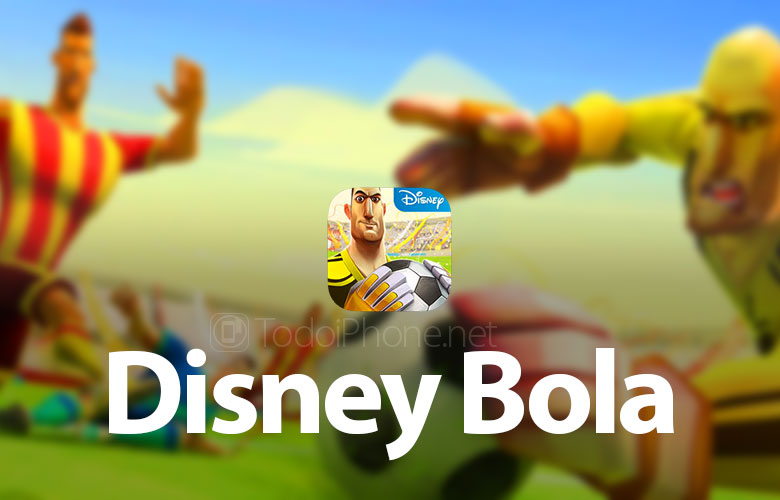 Disney Ball, the Disney football game for iPhone and iPad 2