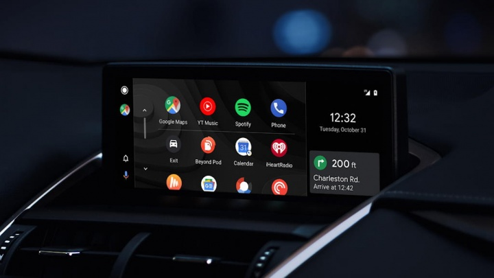 Android Auto interface Google trick
