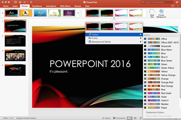 power point 2016 themes