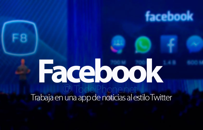 Facebook work on a news app like that Twitter 4