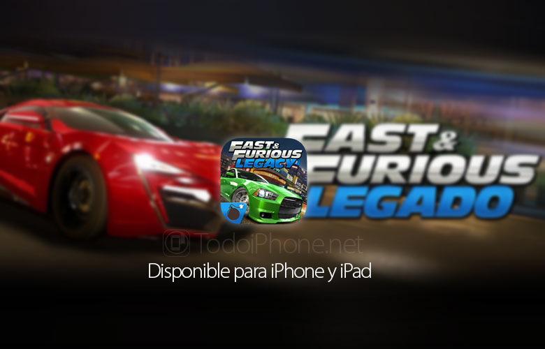 Fast & Furious: Legacy, the official movie game 2