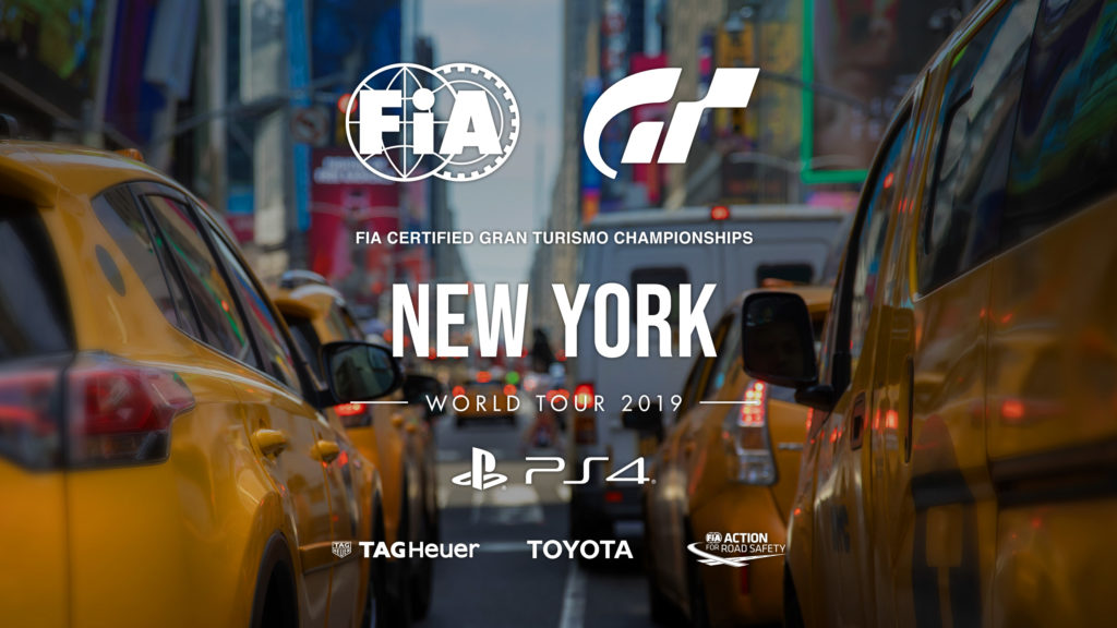 Follow the World Tour of Gran Turismo Sport live from New York