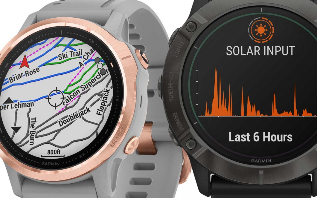 Garmin Fenix ​​6: smartwatch with solar charge 2