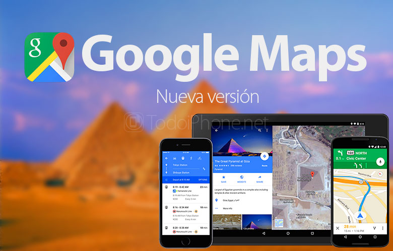 Auto route recalculation arrives at Google Maps 2