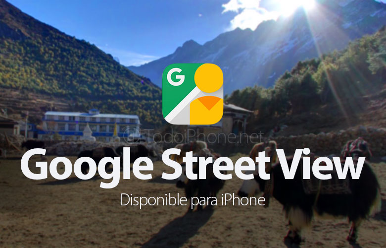 Google Street View is available for iPhone 2