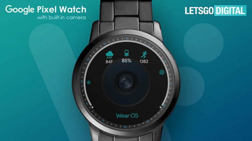 Google patents a smart watch with a camera in the dial