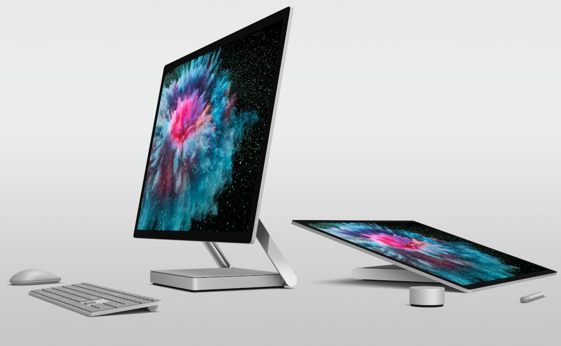Headphones Microsoft Surface and Surface Studio 2 will go on sale in China from January 3 1