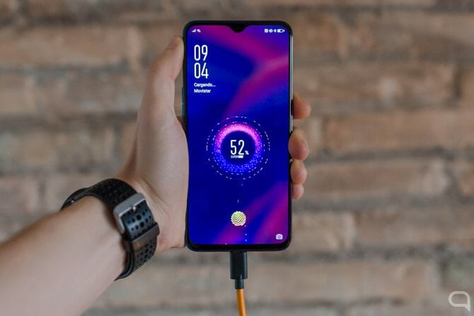 SuperVOOC on the Oppo RX17 Pro