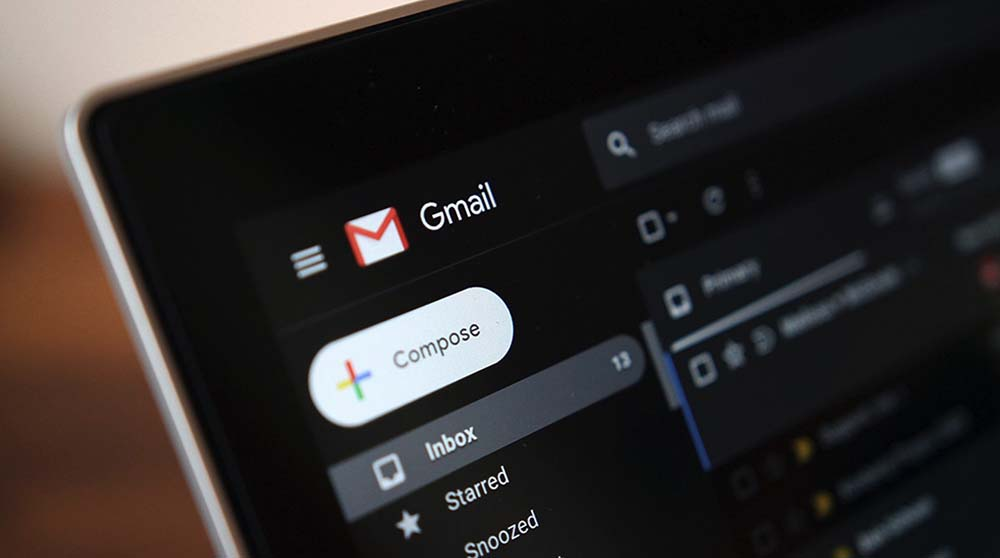 How to activate the dark mode in Gmail for Android