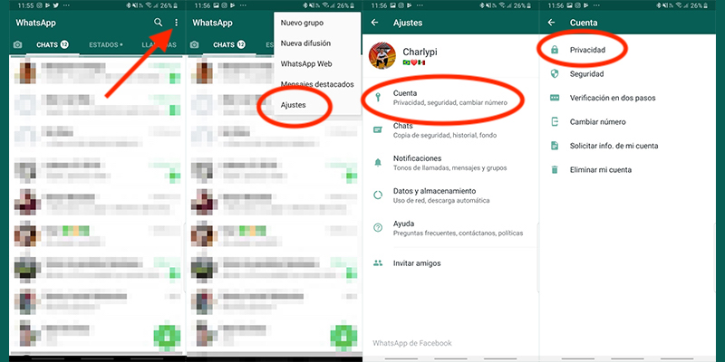 How to activate the fingerprint lock in WhatsApp for Android? 1