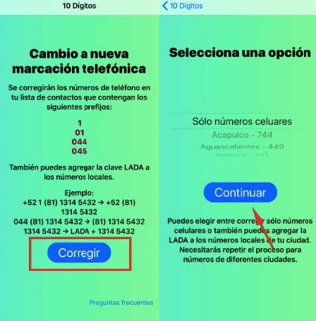 How to change all your numbers easily and quickly with the new dialing? 4