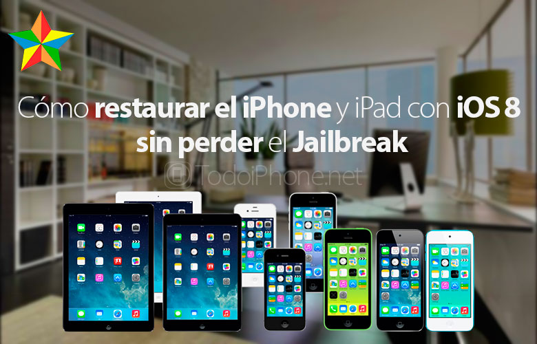 How to restore iPhone with iOS 8.0.x - 8.1 without losing the Jailbreak 2