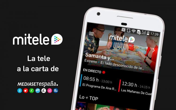 Mitele + is one of the platforms where to watch LaLiga
