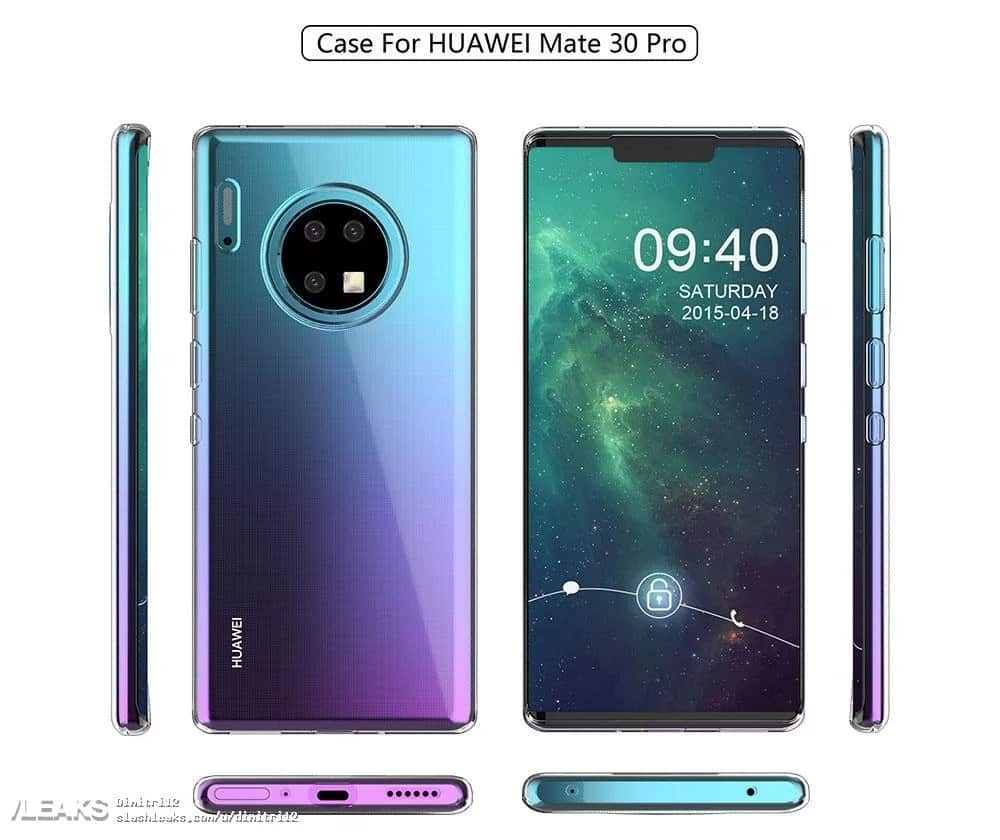 Huawei Mate 30: New Real Image Reveals The Back! 4