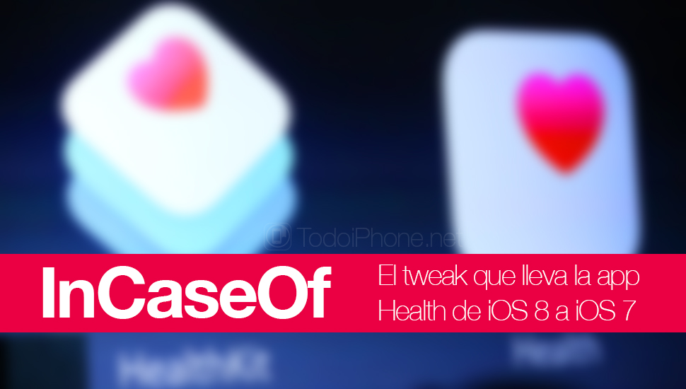 InCaseOf, the tweak that carries a function of the Health app from iOS 8 to iOS 7 4