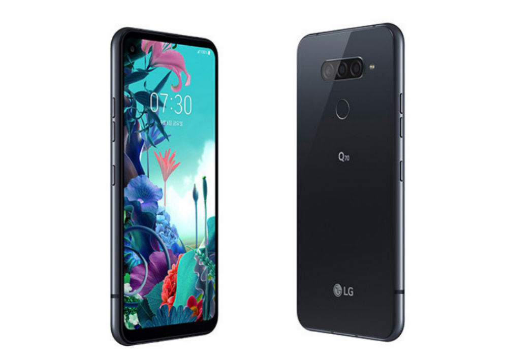 LG Q70, mobile with large screen and triple camera for less than 500 euros