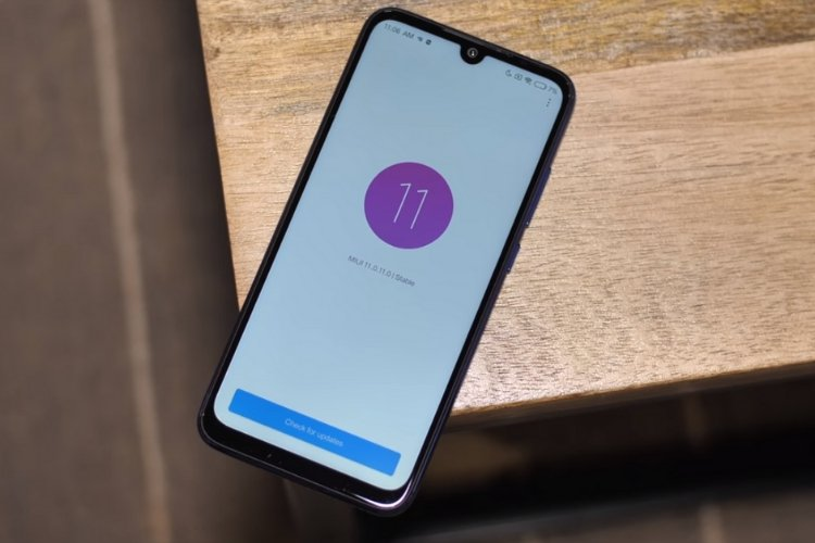 MIUI 11 can allow the Xiao AI Voice Assistant to answer calls for you by means of a call between fingers