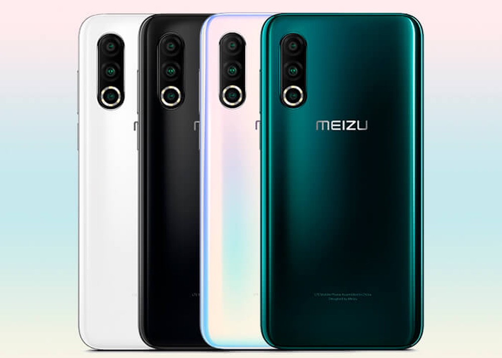 Meizu 16s Pro, mobile with triple camera and very thin frames