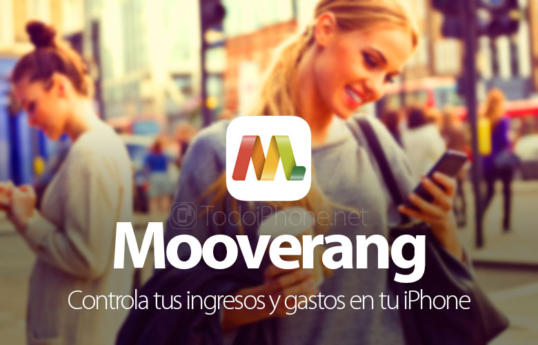 Mooverang, control your income and expenses on your iPhone 6